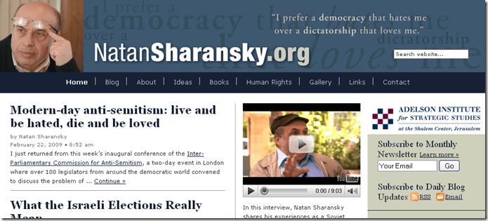Natan Sharansky - Human Rights, Bottom-Up Democracy, Zionism, Freedom & Identity_1235920917356