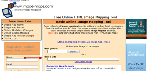 Image Map Tool