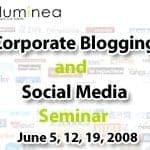 Announcing Corporate Blogging and Social Media Seminar in Jerusalem