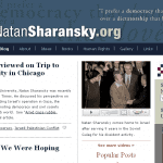 New site/blog launched for Natan Sharansky!