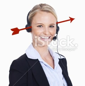 Sorry to do this to you, Ms. iStock, but no actually believed you were answering the phones anyway?